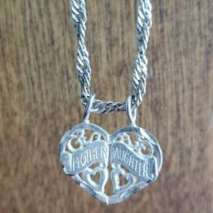 Jewelry - Mother & Daughter Pendant Necklace